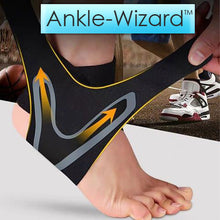 Load image into Gallery viewer, Walk-Wizard™ Adjustable Elastic Ankle Brace - OxyLand