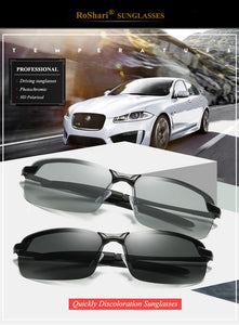Automatic Photochromic Sunglasses [Polarized Lens] - OxyLand