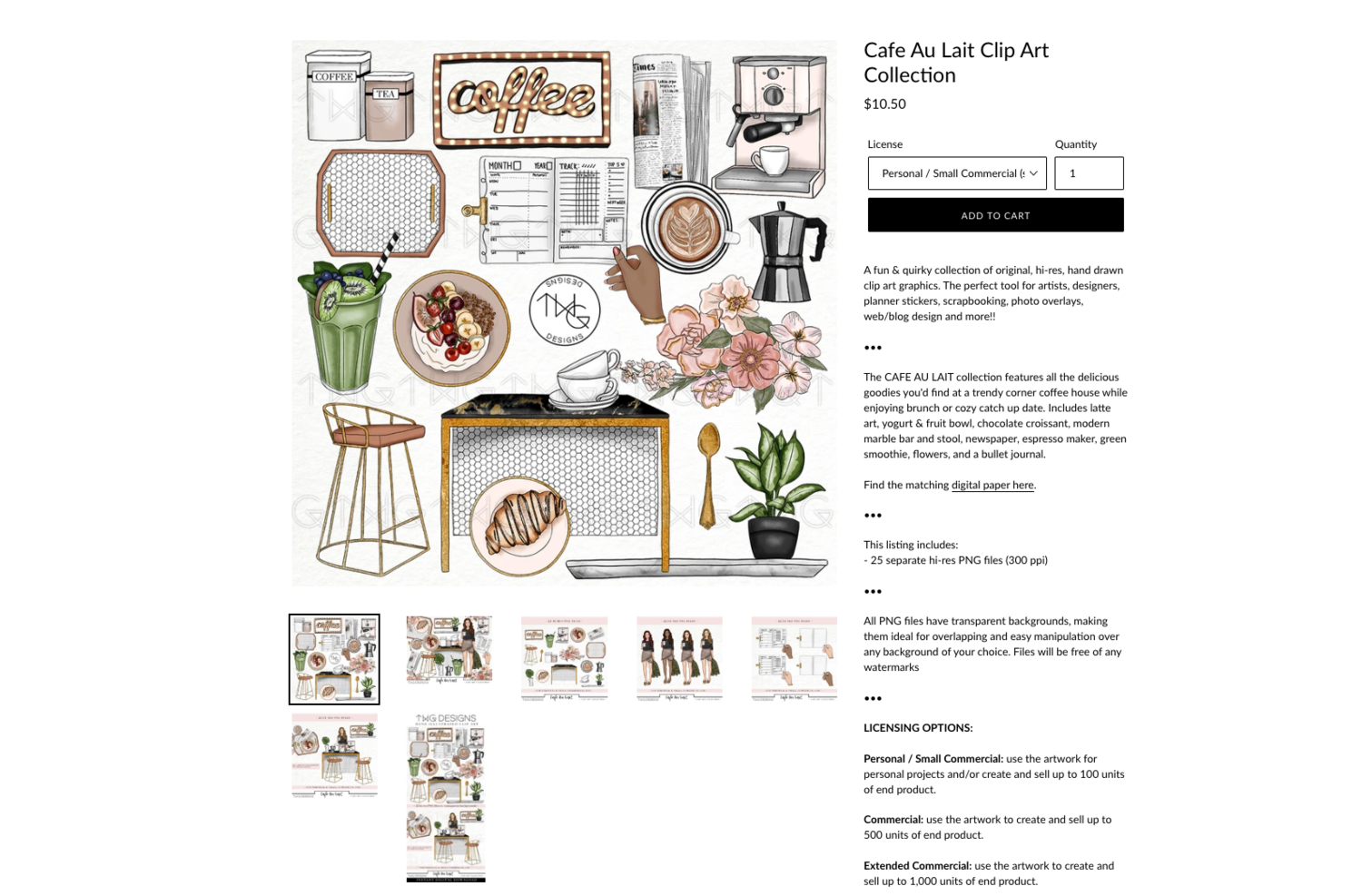 coffee clipart collection of digital graphics