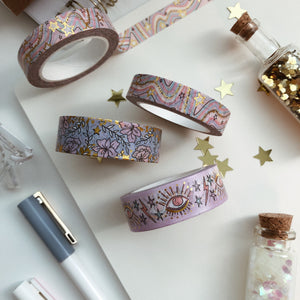 exclusive washi tape twg designs twgdesigns stationery designer paper goods journaling supplies gold foil washi tape washis