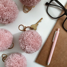 Load image into Gallery viewer, Berry Sorbet - Pom Pom Keychain Charm