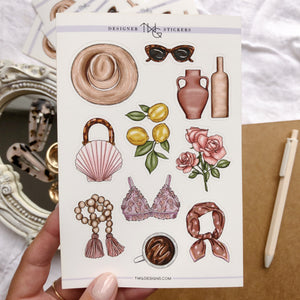 Amalfi - Sticker Sheet