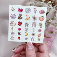 Load image into Gallery viewer, LUV YA - Nail Decals
