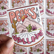 Load image into Gallery viewer, Peaks & Valleys - Die Cut Sticker