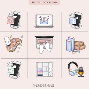 Boss Babe - To Do Planner Icons