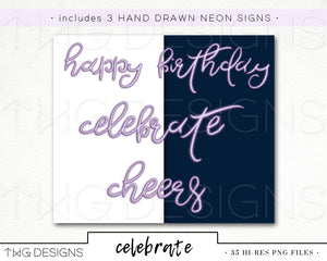 Collections, Celebrate Clip Art Collection - TWG Designs