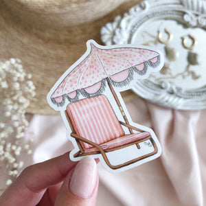 Pink Paradise - Die Cut Sticker