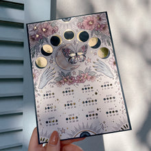Load image into Gallery viewer, Moon Calendar 2021 - Double Sided Mini Print