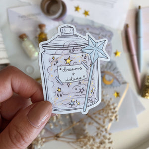 Magic Jar - Die Cut Sticker