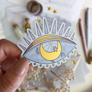 Stickers, Eye See - Die Cut Sticker - TWG Designs