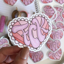 Load image into Gallery viewer, Stickers, Cute as FCK - Die Cut Sticker - TWG Designs