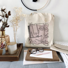 Load image into Gallery viewer, Tote Bag, Planner Goodies Tote - TWG Designs