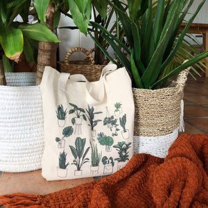Tote Bag, Plant Mom Tote - TWG Designs