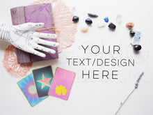 Load image into Gallery viewer, Styled Stock Photos, Crystals & Cards Styled Stock Photo - TWG Designs