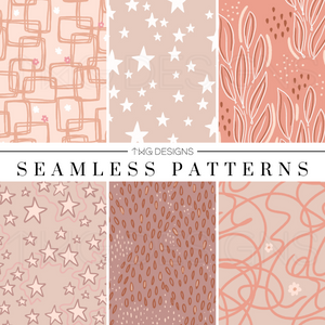 Clay Seamless Patterns