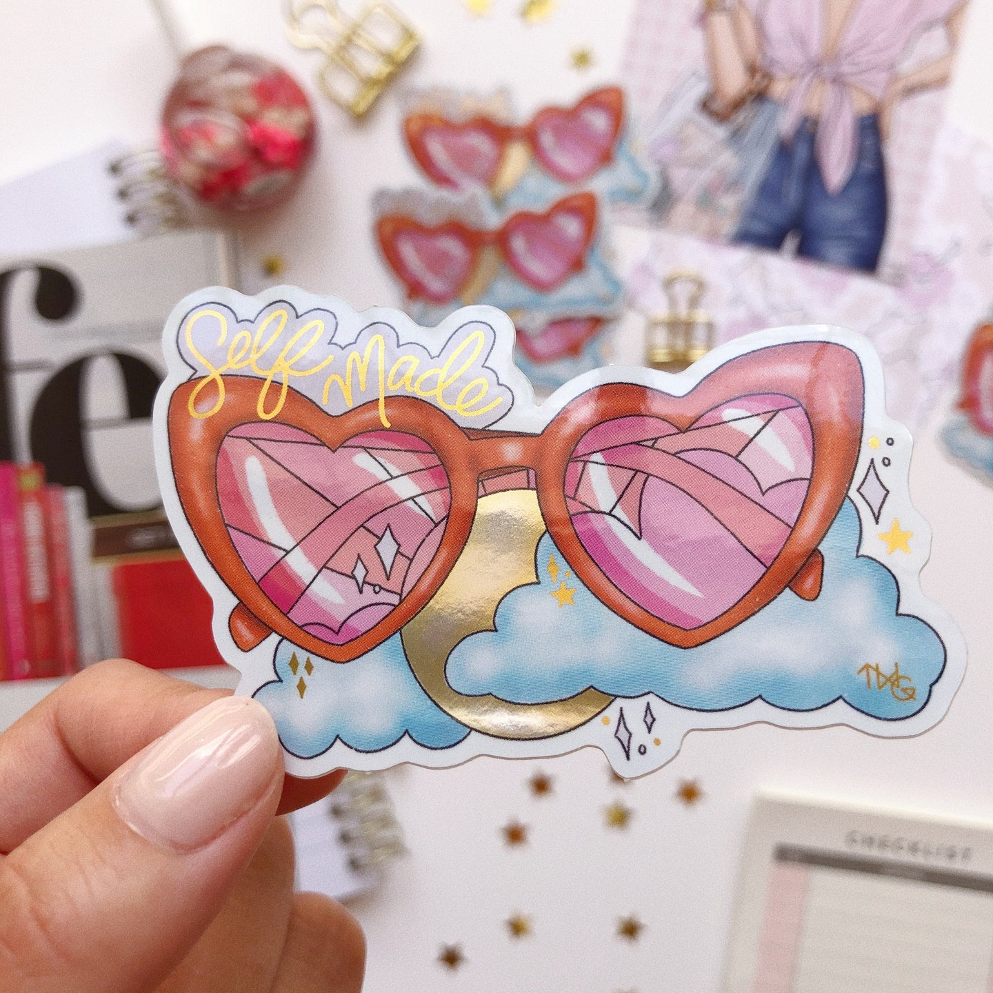 Self Made Sunnies - Die Cut Sticker