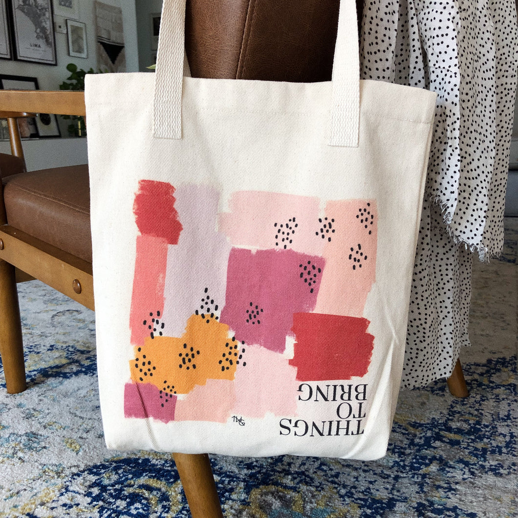 Tote Bag, Things To Bring Tote - TWG Designs