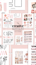 Load image into Gallery viewer, Printables, Pink Vibes Creative Journal Kit - Printables - TWG Designs