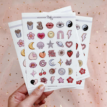 Load image into Gallery viewer, The QT Bundle - Sticker Sheet & Nail Decals