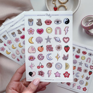 AS IF - Sticker Sheet