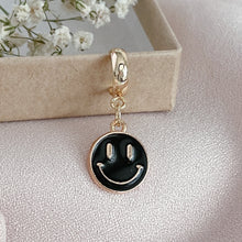 Load image into Gallery viewer, Smiley - Cutie Charm Hoop Earring