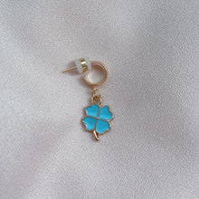 Load image into Gallery viewer, So Lucky - Cutie Charm Hoop Earring