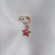 Load image into Gallery viewer, Stardust - Cutie Charm Hoop Earring