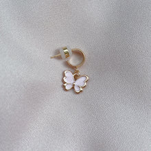 Load image into Gallery viewer, Butterfly Kiss - Cutie Charm Hoop Earring