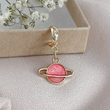 Load image into Gallery viewer, Saturn - Cutie Charm Hoop Earring