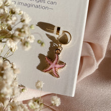 Load image into Gallery viewer, Pink Starfish - Cutie Charm Hoop Earring