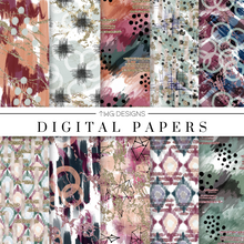 Load image into Gallery viewer, Boss Babe Digital Paper Set