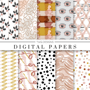 Moodboard Digital Paper Set