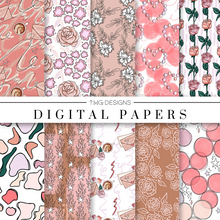 Load image into Gallery viewer, Love Letter Digital Paper Set