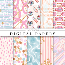 Load image into Gallery viewer, Tropicola Digital Paper Set