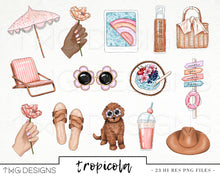 Load image into Gallery viewer, Collections, Tropicola Clip Art Collection - TWG Designs