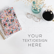 Load image into Gallery viewer, Styled Stock Photos, Notebooks & Coffee Styled Stock Photo - TWG Designs