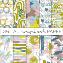 Load image into Gallery viewer, Digital Paper, Miami Fall Digital Paper Set - TWG Designs