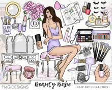 Load image into Gallery viewer, Collections, Beauty Babe Clip Art Collection - TWG Designs