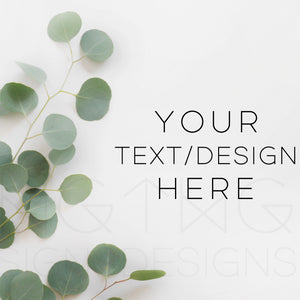 Styled Stock Photos, Eucalyptus Styled Stock Photo - TWG Designs