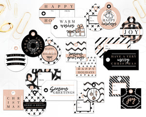 Printables, So Chic Holiday Gift Tags - TWG Designs