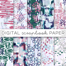 Load image into Gallery viewer, Digital Paper, Winter Chill Digital Paper Set - TWG Designs