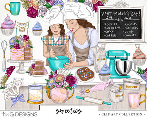 Collections, Sweeeties Clip Art Collection - TWG Designs