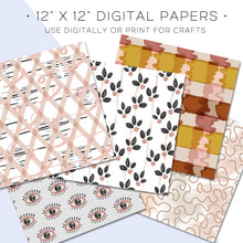 Load image into Gallery viewer, Digital Paper, Moodboard Digital Paper Set - TWG Designs