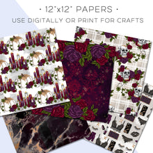 Load image into Gallery viewer, Digital Paper, Wicked Affair Digital Paper Set - TWG Designs