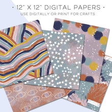 Load image into Gallery viewer, Digital Paper, Stars Align Digital Paper Set - TWG Designs