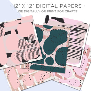 Digital Paper, Glaming Digital Paper Set - TWG Designs