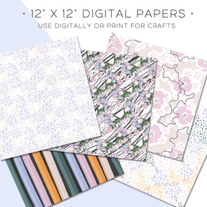 Digital Paper, Goalgetter Digital Paper Set - TWG Designs