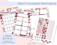 Load image into Gallery viewer, Printables, Kiss Kiss Planner Printable Bundle - TWG Designs