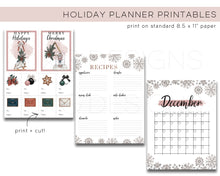 Load image into Gallery viewer, Printables, Holiday Planner Printables - TWG Designs