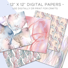 Load image into Gallery viewer, Digital Paper, La Sirena Digital Paper Set - TWG Designs